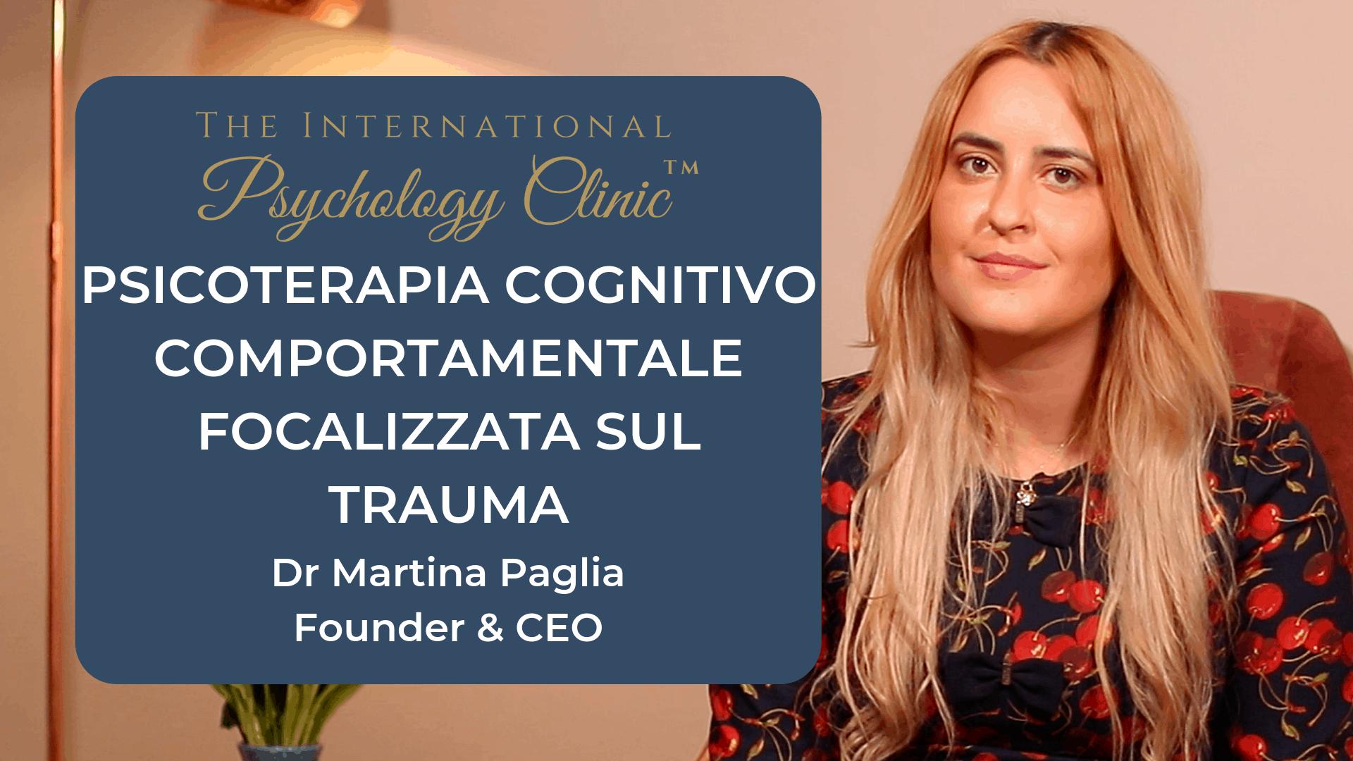 psicoterapia cognitivo comprotamentale focalizzata sul trauma
